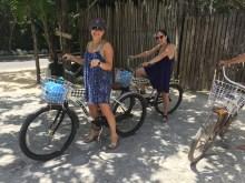 Friends biking!