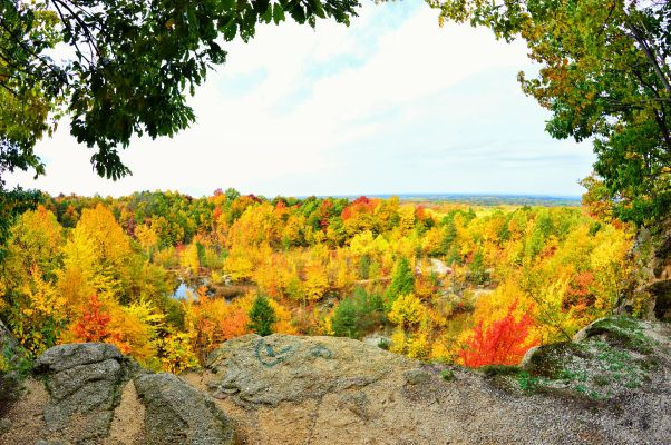 Chapin Forest best fall hikes near cleveland
