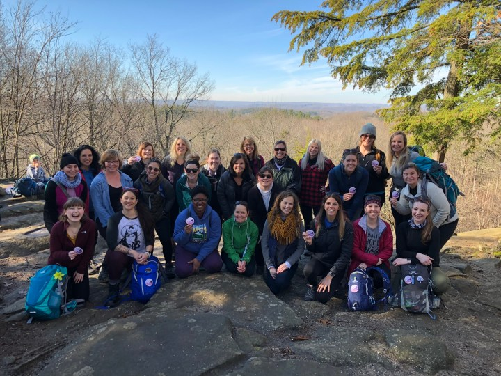 women who hike ohio