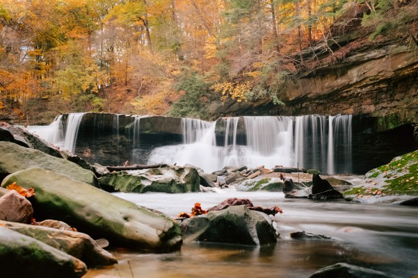 viaduct park best fall hikes near cleveland