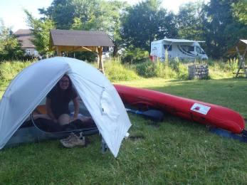 Mecklenburg Lake District - camping