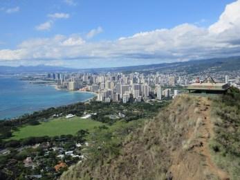 Hiking Diamond Head Summit Trail - Hawaii