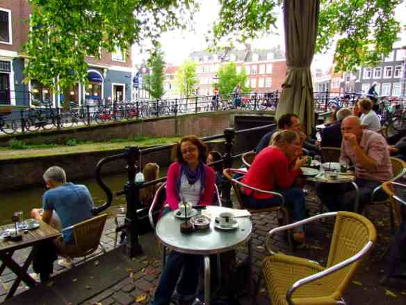Amsterdam's beautiful and laid back cafe terraces.