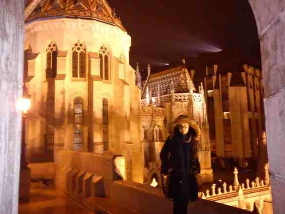 Castle Hill at night, Budapest