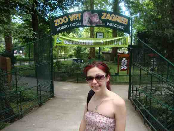 Entrance to the Zagreb zoo