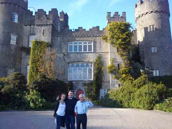 Malahide Castle...waiting for Mario to save the Princess from Bowser's Castle, father's visit to Ireland