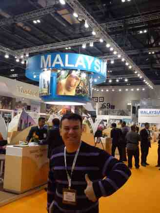 Malaysian tourism board at WTM