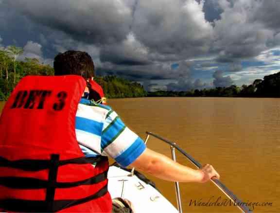 Kinabatangan River - adventurous Borneo honeymoon