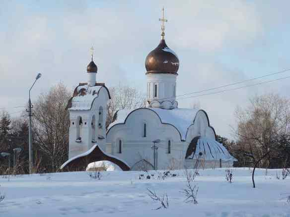 Church of Resurrection of Christ. Peredelkino, Russia http://commons.wikimedia.org/wiki/File:Church_of_Resurrection_of_Christ._Peredelkino,_Moscow_region,_Russia.jpg