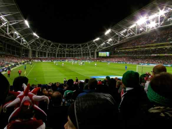 Irish National Soccer, Aviva Stadium