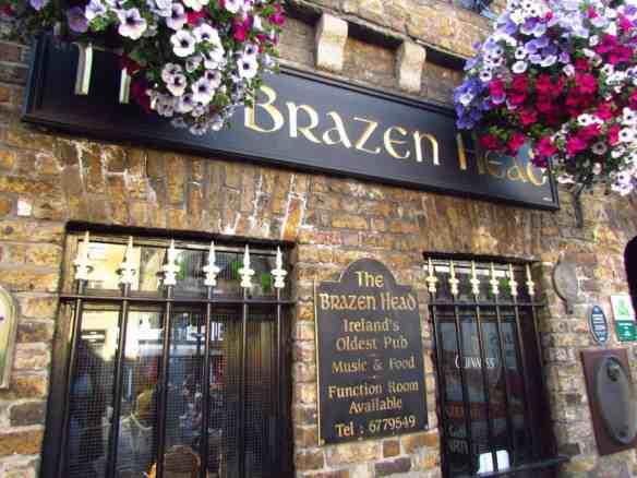 Oldest Pub in Dublin, The Brazen Head