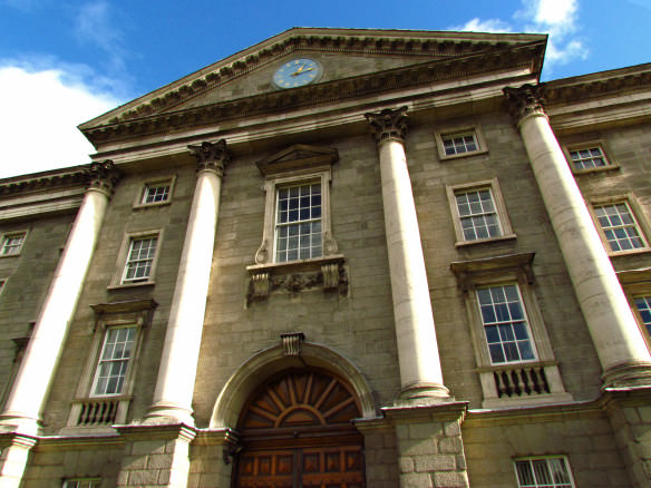 Entrance to Trinity College