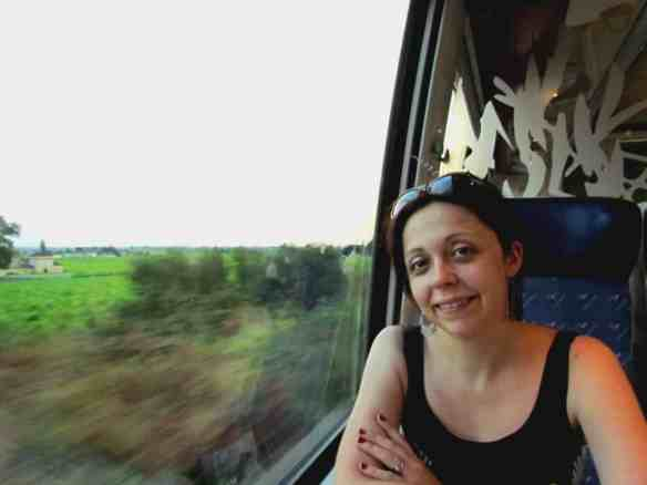 French train: Bordeaux- Saint Emilion