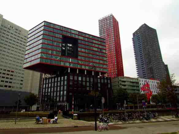 Rotterdam's Unique Skyline