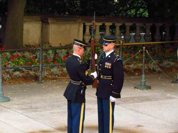 Changing of the Guard at Arlington Cemetery