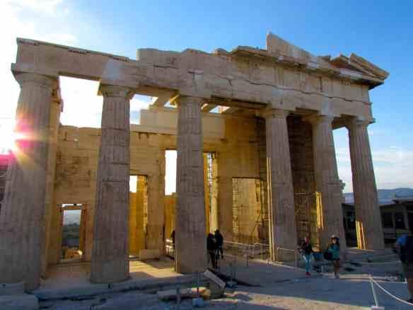 The Propylaea on the Acropolis- Gateway to the Parthenon