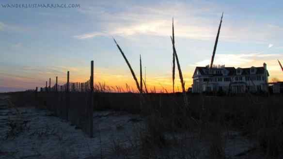 Cape - sunset