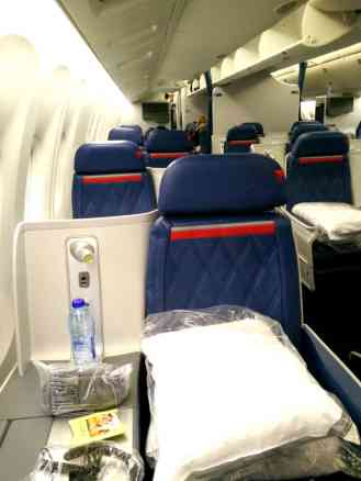 Delta Business Elite Seats on Boeing 767