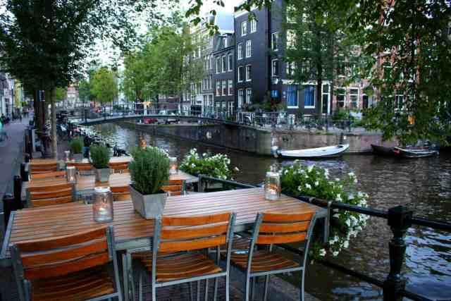 Amsterdam Canal Terrace