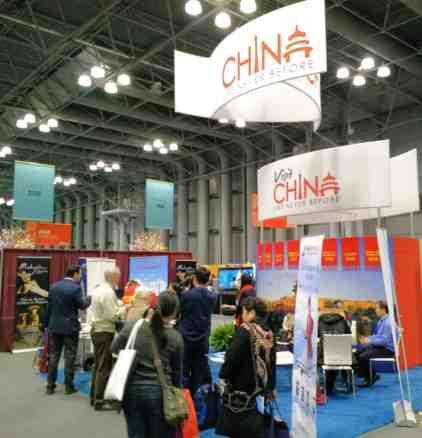 China Exhibit at the NY Times Travel Show