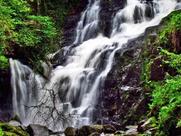 Killarney waterfalls, Ireland