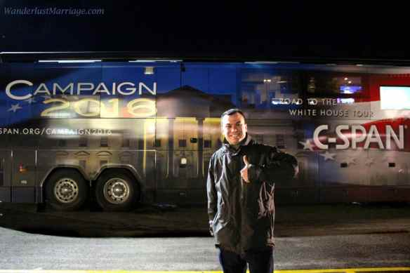 Alex CSPAN bus