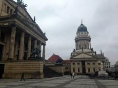Konzerthaus and Französischer Dom in the Gedarmenmarkt