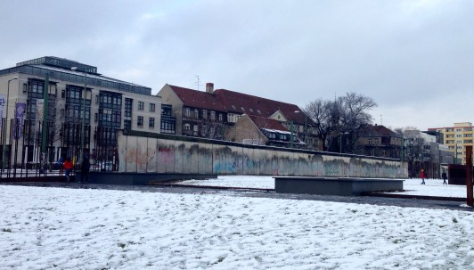 Berlin Wall Memorial: This stretch of the wall is the longest section still standing.