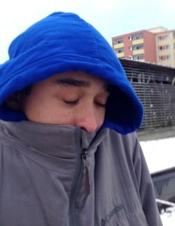 too chilly for Matt