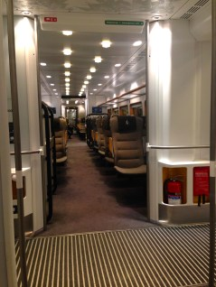 The Arlanda Express - riding from the airport in style