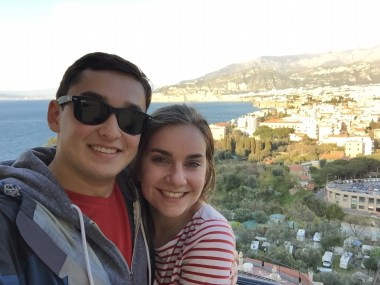 From Pompeii to Sorrento! We couldn't get enough of the view. Sorrento and Venice were our two favorite cities.
