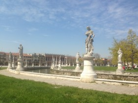 Prato della Valle: Padua has the largest square in Italy and one of the largest in Europe.