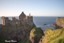 The Dunluce Castle