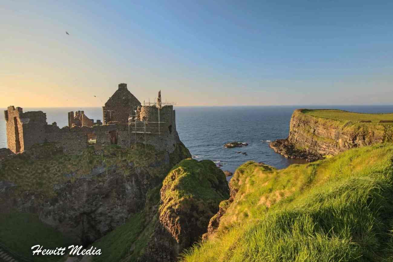 The Dunluce Castle