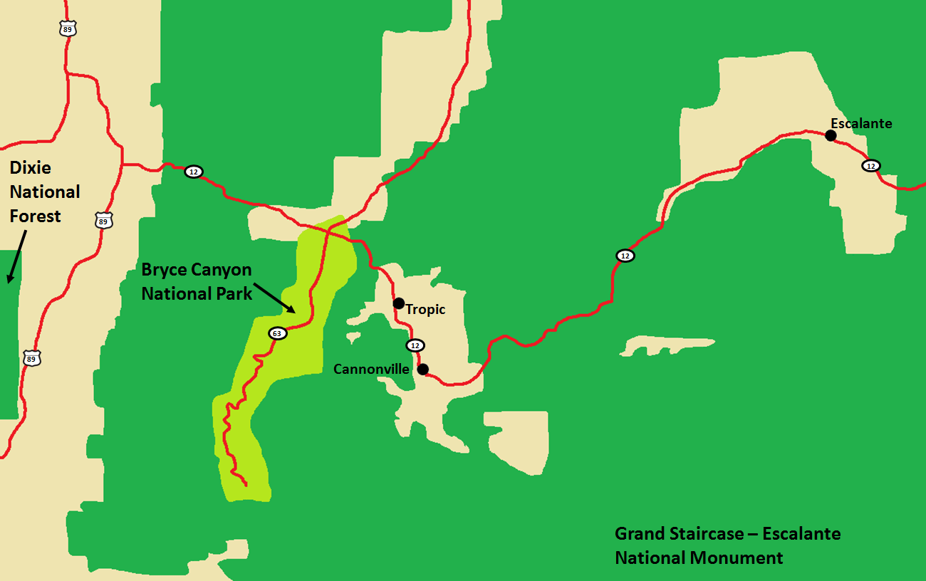 Bryce Canyon Area Map.png