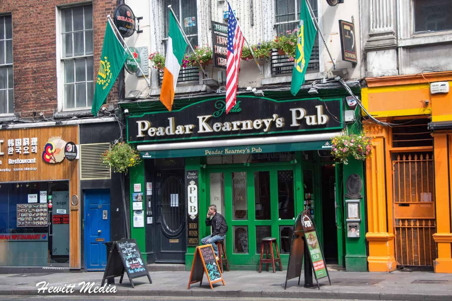 Peadar Kearney's Pub in Dublin
