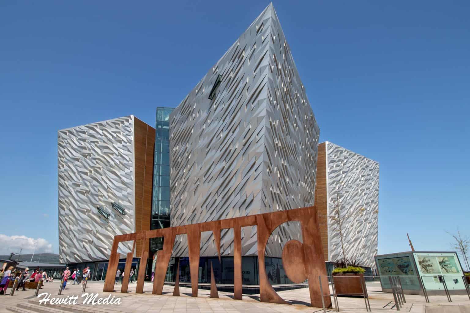 Titanic Experience Museum in Belfast