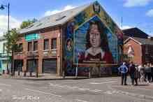 Belfast IRA Murals