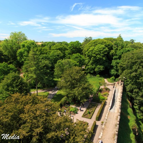 View from the top of the Blarney Castle