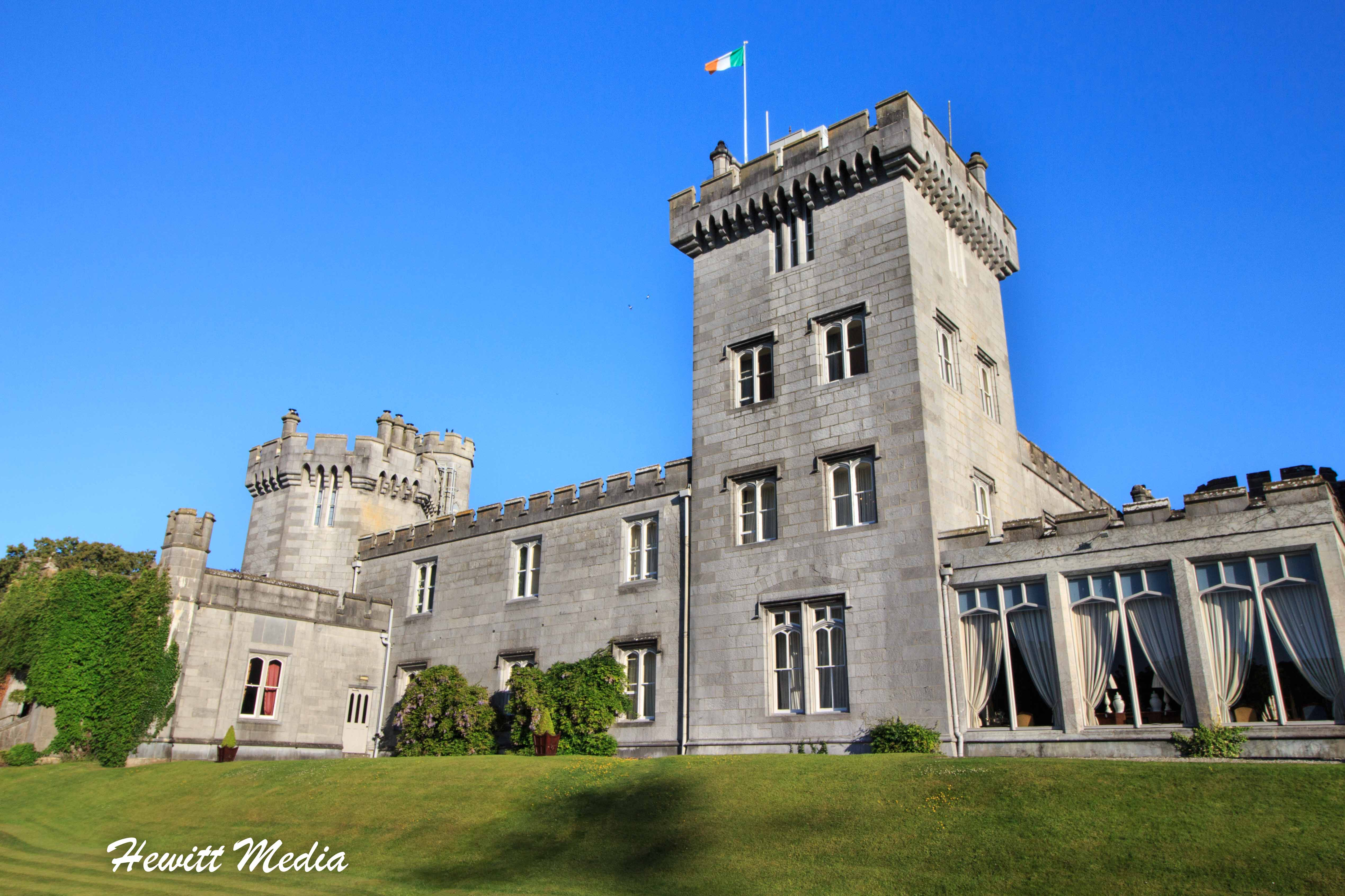 The Dromoland Castle Hotel in Central Ireland