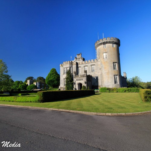 The Dromoland Castle Hotel grounds