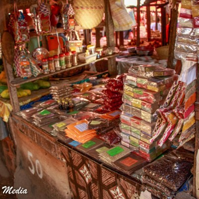Spices for sale in Stone Town