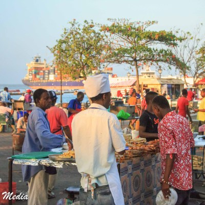 The food market in Zanzibar was spectacular