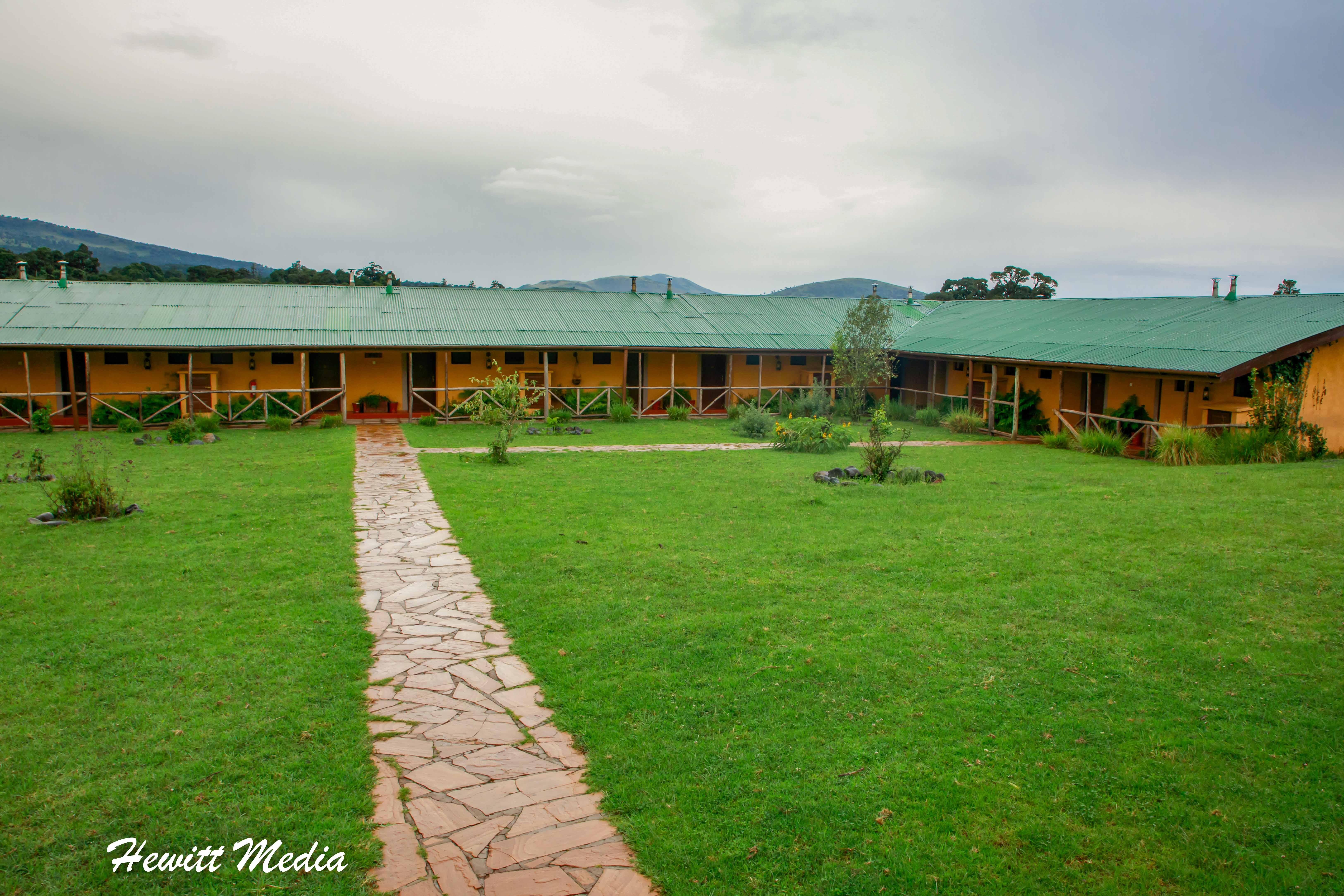 The Rhino Lodge outside of the Ngorongoro Crater