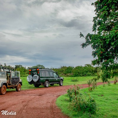 Heading to the Ngorongoro Crater