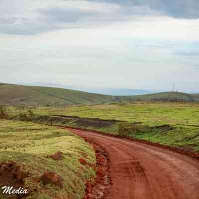 Road thru the Ngorongoro Conservation Area