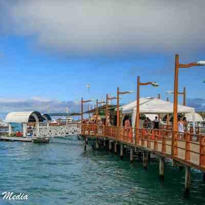 The dock on Isabela Island.