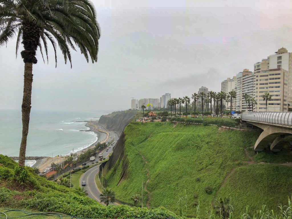 Travel Journal (9/4/2018):  Exploring Lima, Peru