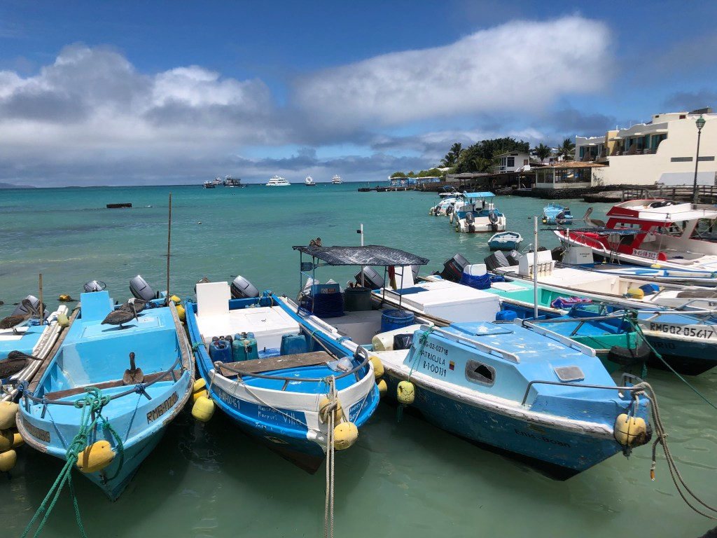 Travel Journal (9/8/2018): Arriving in the Galápagos