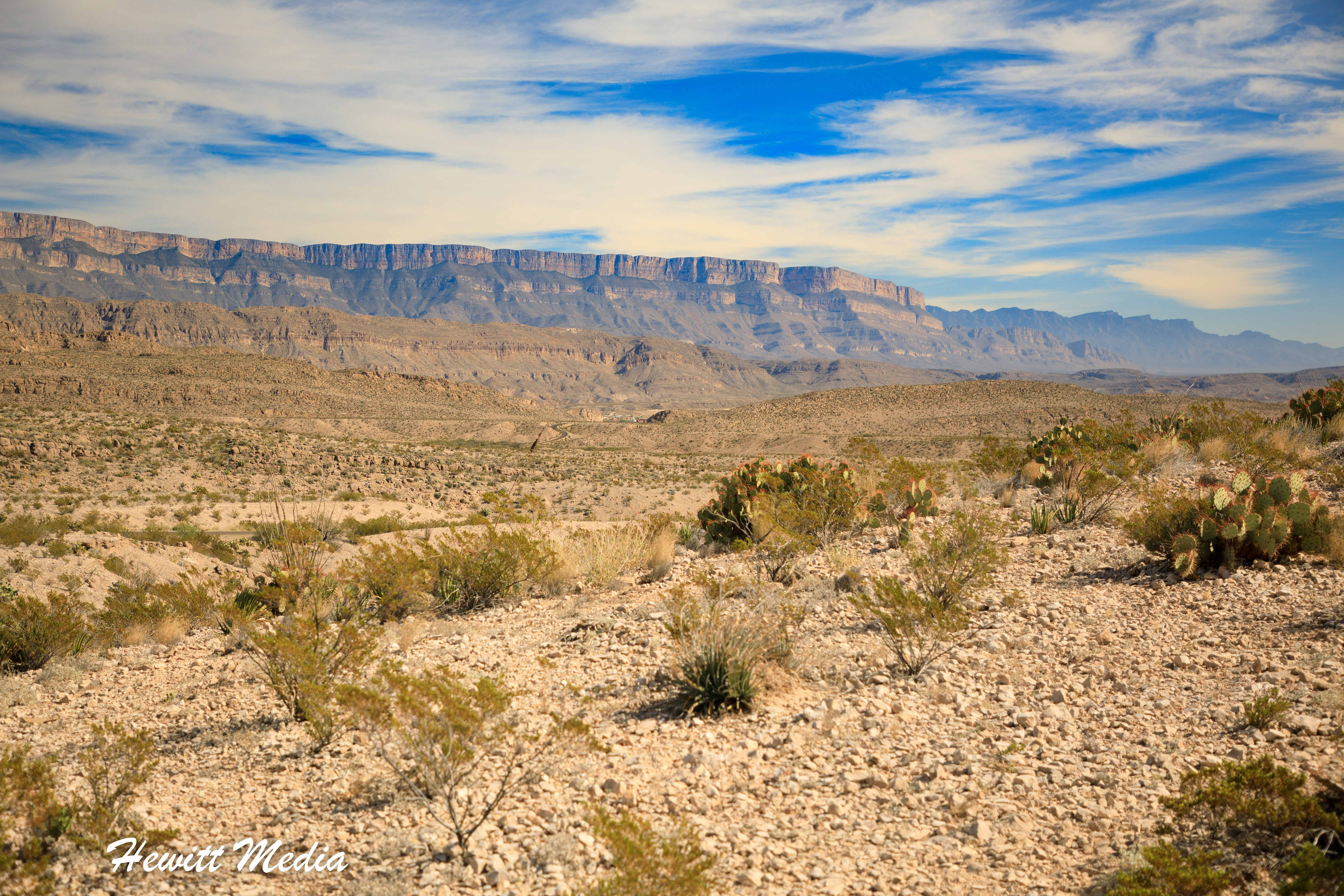 The beautiful Big Bend National Park